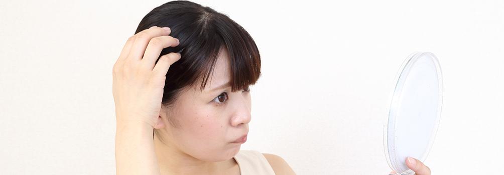 女性の抜け毛予防なら「パントガール」